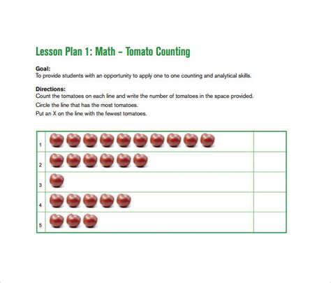 9 Toddler Lesson Plan Sles Sle Templates Creative Curriculum Lesson Plan Template