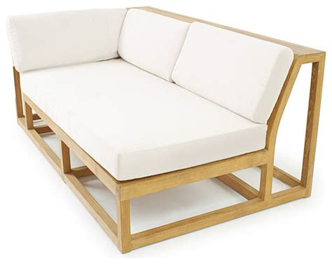 outdoor teak sectional teak outdoor sofa with outdoor sofas