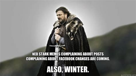 Ned Stark Meme Generator - ned stark winter is coming memes quickmeme