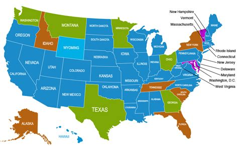 usa blind map interpreter licensure by state library services for the