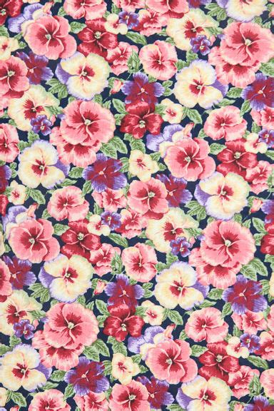 flower pattern we heart it little flower pink white blue purple green love cute we