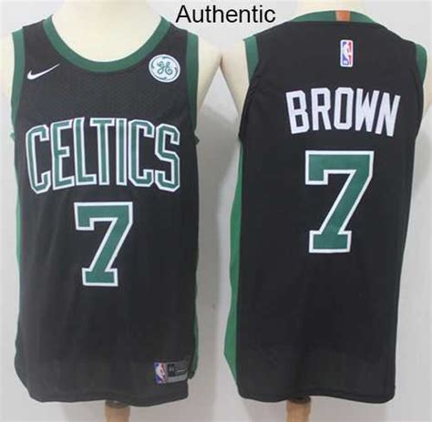 Promo Terbaru Gamis Jersey Navy Limited Edition s nike boston celtics 7 jaylen brown black nba authentic statement edition jersey