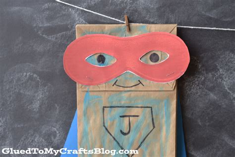 Crafts Using Paper Bags - paper bag kid craft idea free mask printable