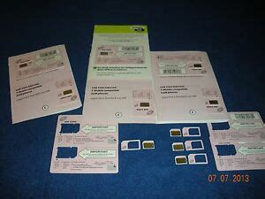 iphone straight talk  mobile network micro size sim card activation kit  ebay