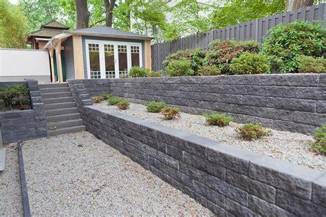 garten ideen mauer steine f 252 r gartenmauer gartengestaltung ideen modern