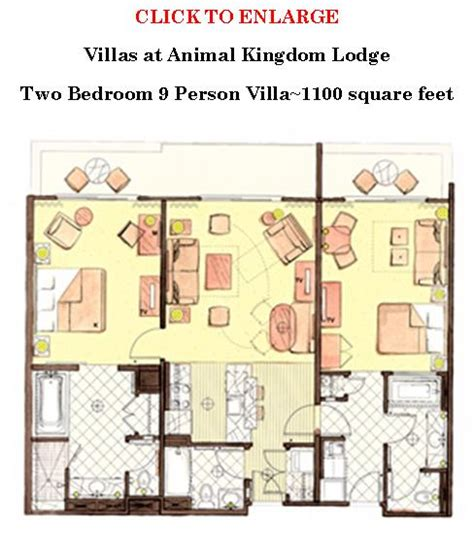 animal kingdom two bedroom villa akl dvc value 2 bedroom villa wdwmagic unofficial walt