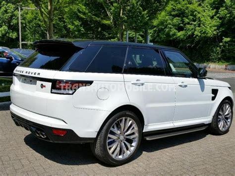 land rover svr price price land rover range rover sport svr petrol v8