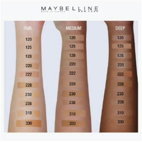 Maybelline Fit Me Matte And Poreless maybelline fit me matte poreless liquid foundation 230