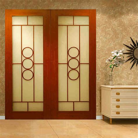 China Ritz Standard Modern Interior Swing Double Doors Swinging Doors Interior
