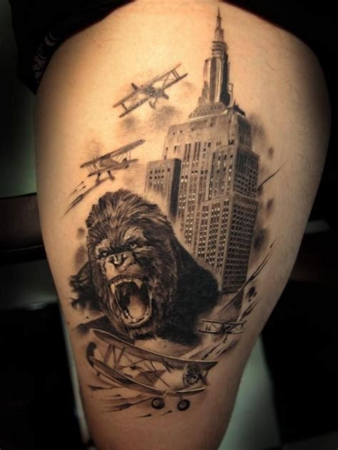 king kong tattoo 41 best images about king kong tattoos on