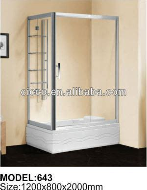 China Cicco New Fashion Tempered Glass Shower Door Plastic Shower Door Frame Only