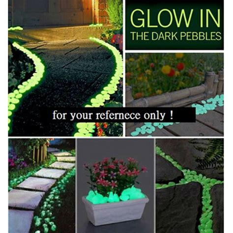 glow in the paint yard fish tank decorative gravel for garden yard