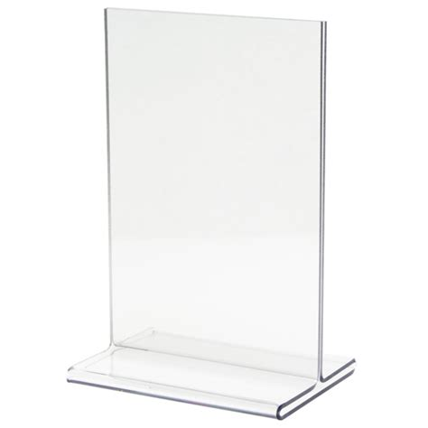 Sign Holder T Base Ukuran A3 acrylic sign holders ad frames table tents displays