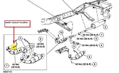 2009 ford f150 o2 sensor location ford ranger o2 sensor engine diagram and wiring diagram
