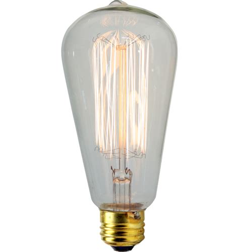 Filament Light Bulb Fixtures 30w Squirrel Cage Tungsten Filament Bulb Rejuvenation