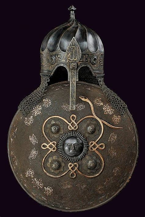 otomano humano a turban type helmet and sipar turkey 19th century