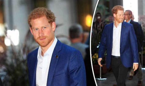 Royal Detox Prescott by Prince Harry Causes Excitement As He Lands For Invictus