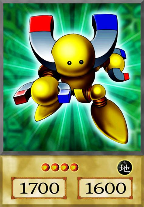 Kartu Yugioh Gamma The Magnet Warrior Common beta the magnet warrior anime by yugiohfreakster on