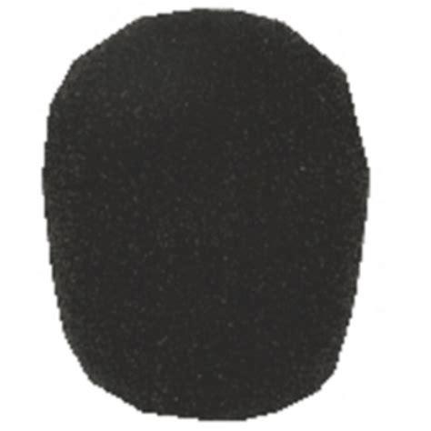 Pixy Foam 40 Gr microphone foam windshield for mics 40 50 mm diameter black trantec spares