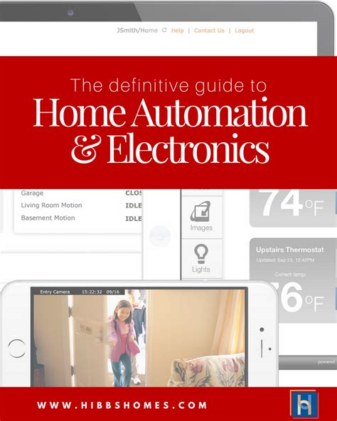 the definite guide to home automation electronics for