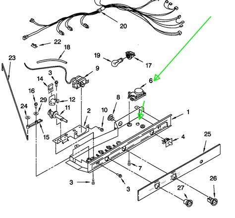 kenmore refrigerator parts diagram kenmore coldspot wiring diagram wiring diagram and