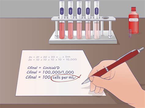 Banca Ppb by 2 Simple Ways To Do Serial Dilutions Wikihow