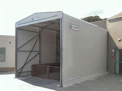 capannoni pvc coperture mobili frontali coperture pvc industriali
