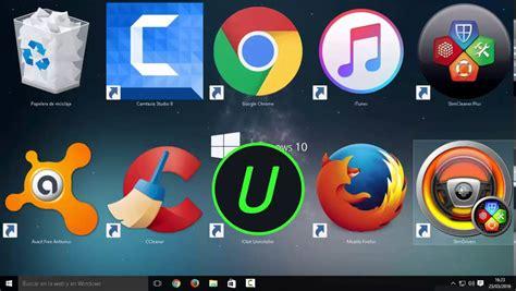 agrandar iconos escritorio como agrandar y achicar los iconos en windows 10 8 y 7