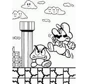 Jogos Do Mario Para Pintar  AZ Dibujos Colorear
