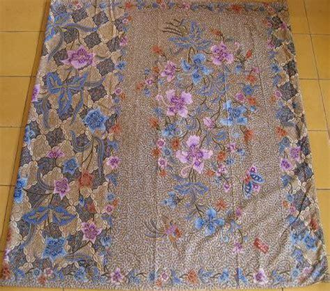Kain Batik Motif Bunga Bintang Dan Burung Unik Ungu Harga Grosir toko antiek retro antik saroeng encim kain batik lawas