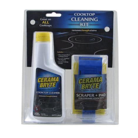 ceramic cooktop cleaner cerama bryte ceramic cooktop cleaning kit by cerama bryte