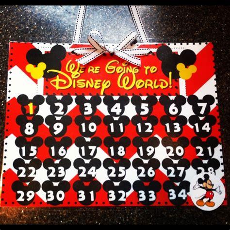 countdown to disney calendars calendar template 2016