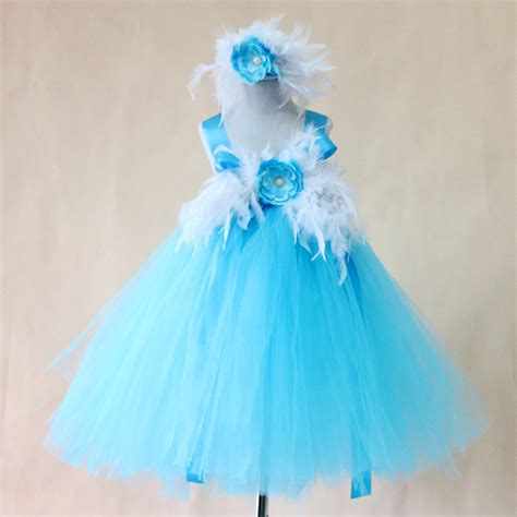 2015 new arrival blue summer style suspender dress catimini baby feather dress with