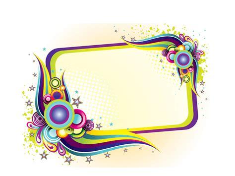 design frame hd colorful frame design backgrounds presnetation ppt