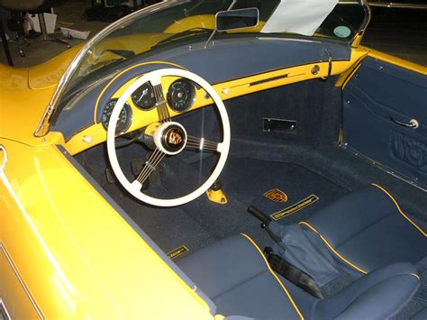 porsche speedster interior 1957 porsche 356 speedster re creation 81625