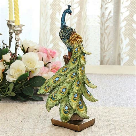 peacock home decor shop 775 best images about peacock figurine statue on pinterest