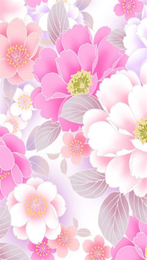 wallpaper flower portrait pink floral iphone wallpaper background iphone