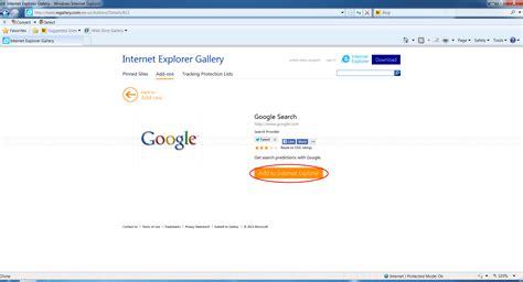 change default home page and search provider on ie