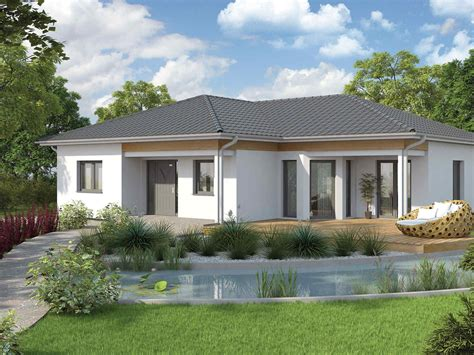 Grundriss Haus Bungalow by Vario Haus Bungalow We136 Gibtdemlebeneinzuhause