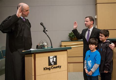 King County District Court Records Rod Dembowski Takes Oath Of Office For County Council District 1 King County