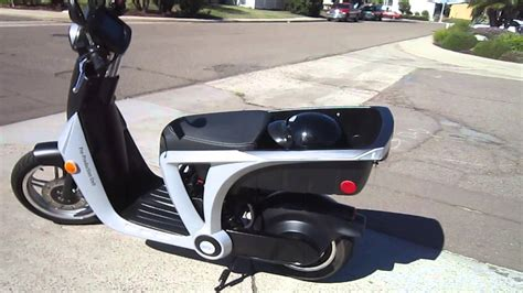 American Electric Motor by Genze 2 0 American Made Electric Motor Scooter