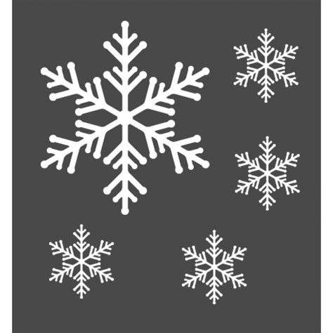 Wall Sticker Snowflakes snowflakes wall stickers