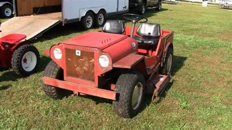 lawn mower jeep mini jeep roof palomino lawn tractor