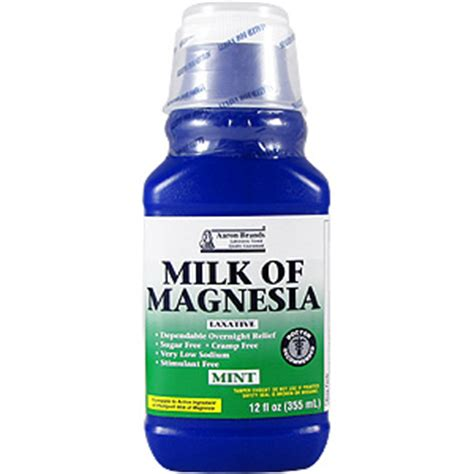 Is Milk Of Magnesia A Laxative Or Stool Softener by Herballoveshop Milk Of Magnesia Laxative Mint