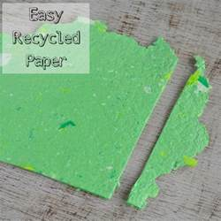 Materials Used To Make Paper - how to make your own recycled paper without a mold or deckle