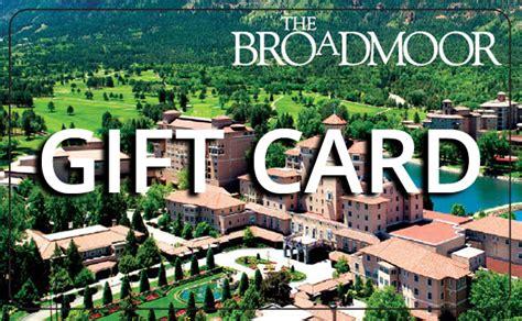 Broadmoor Gift Card - broadmoor shopping cart online shopping boutique