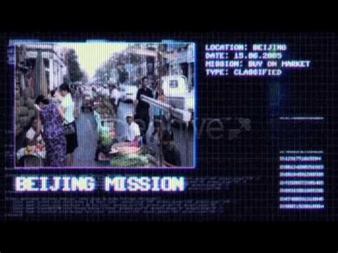 After Effects Template Mission Possible Youtube Mission Impossible After Effects Template