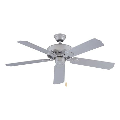 pacific ceiling fans shop royal pacific sunset 52 in brushed pewter indoor outdoor downrod mount ceiling fan at lowes