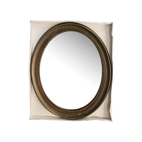 Antique Bronze Bathroom Mirrors by Koleimports Antique Bronze Framed Oval Mirror Reviews