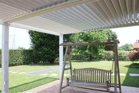 tettoie in alluminio tettoia in alluminio rigato